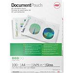 Pochette de plastification GBC 3740400 A4 2 x 75 (150) µm  Transparent Brillant