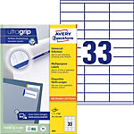 Étiquettes universelles AVERY Zweckform QuickPEEL™ Blanc 70 x 25,4 mm 100 Feuilles