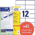 Étiquettes universelles AVERY Zweckform  Blanc 105 x 48 mm 100 Feuilles