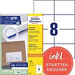 Étiquettes universelles AVERY Zweckform  Blanc 105 x 74 mm 100 Feuilles