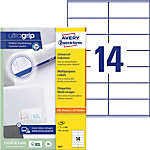 Étiquettes universelles AVERY Zweckform QuickPEEL™ Blanc 105 x 41 mm 100 Feuilles