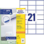 Étiquettes universelles AVERY Zweckform QuickPEEL™ Blanc 70 x 41 mm 100 Feuilles