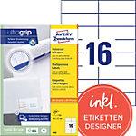 Étiquettes universelles AVERY Zweckform  Blanc 105 x 37 mm 100 Feuilles