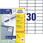 Étiquettes universelles AVERY Zweckform QuickPEEL™ Blanc 70 x 29,7 mm 100 Feuilles
