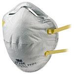 Masque anti poussière 3M GT500075178 Blanc 20 Unités