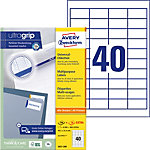Étiquettes universelles AVERY Zweckform QuickPEEL™ Blanc 48,5 x 25,4 mm 100 Feuilles