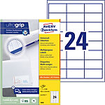 Étiquettes universelles AVERY Zweckform QuickPEEL™ Blanc 64,6 x 33,8 mm 100 Feuilles