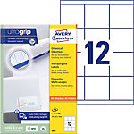 Étiquettes universelles AVERY Zweckform QuickPEEL™ Blanc 70 x 67,7 mm 100 Feuilles