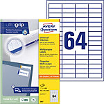 Étiquettes universelles AVERY Zweckform QuickPEEL™ Blanc 48,5 x 16,9 mm 100 Feuilles