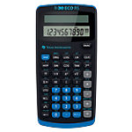 Calculatrice scientifique Texas Instruments TI 30 ECO RS 10 chiffres Noir