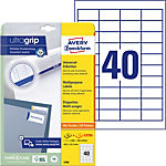 Étiquettes universelles AVERY Zweckform QuickPEEL™ Blanc 48,5 x 25,4 mm 30 Feuilles