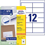 Étiquettes universelles AVERY Zweckform QuickPEEL™ Blanc 97 x 42,3 mm 25 Feuilles