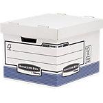 Boïtes à archives R Kive 39 x 33.3 x 28.5 cm Blanc, bleu 2 Unités