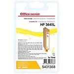 Cartouche jet d'encre Office Depot Compatible HP 364XL Jaune CB325EE