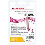 Cartouche jet d'encre Office Depot Compatible HP 364XL Magenta CB324EE