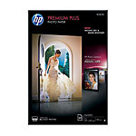 Papier photo jet d'encre HP Premium Plus Blanc Brillant 300 g