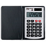 Calculatrice de poche Office Depot AT 809 8 chiffres Argenté