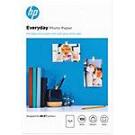 Papier photo jet d'encre HP Everyday blanc brillant 200 g