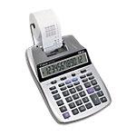 Calculatrice de bureau imprimante Canon P23 DTSII 12 chiffres Gris