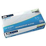 Gants M Safe Poudrés Latex Taille Large Transparent 100