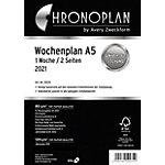 Recharge organiseur Chronoplan 50237 Blanc 14.8 x 21 cm
