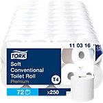 Papier toilette Tork Premium 3 épaisseurs 72 Rouleaux