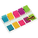 Index Post it 6835 5CB Rouge, bleu, jaune, vert