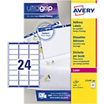 Étiquettes d'adresses AVERY Zweckform QuickPEEL™ Blanc 63,5 x 33,9 mm 100 Feuilles