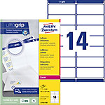 Étiquettes d'adresse AVERY Zweckform QuickPEEL™ Blanc 99,1 x 38,1 mm 100 Feuilles