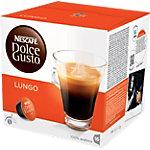 Café en capsules Nescafé Dolce Gusto  Lungo 16 Unités