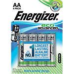 Piles Energizer Eco Advanced LR6 AA 4
