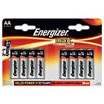 Piles Energizer Max LR6 AA 8