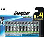 Piles Energizer Alcaline Eco Advanced AAA AAA 12
