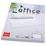 Enveloppes Elco Blanc Sans Fenêtre Bande adhésive 100 g