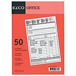 Blocs autocopiants Elco Universel A5   2 x 50 Feuilles