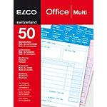 Bloc autocopiant Elco Universel A6   2 x 50 Feuilles