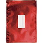 Enveloppes métallisées Office Depot C4 Rouge Sans Fenêtre 100