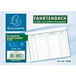 Carnet registre de kilométrage Exacompta FA514 Blanc A6   Unités