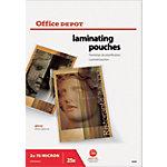Pochettes de plastification Office Depot A3 2 x 75 (150) µm Transparent Brillant