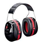 Bandeau 3M XH001650833 EA Universal Noir, rouge