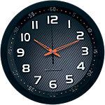 Horloge murale radio pilotée TechnoLine WT8972 noir