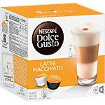 Capsules de café Nescafé Latte Macchiato 16 Unités