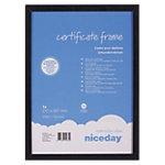 Cadre pour document Niceday Noir 21 x 29.7 cm