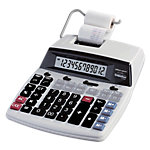 Calculatrice imprimante Office Depot AT 2100 12 chiffres Blanc