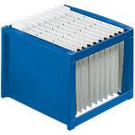 Boîte à dossiers suspendus helit H6110034 A4 bleu 36 x 38 x 26 cm