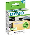 Étiquettes DYMO 11352 54 x 25 mm blanc 500 unités