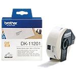 Étiquettes d'adresse Brother DK11201 29 mm blanc 400 unités