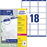 Étiquettes d'adresse AVERY Zweckform QuickPEEL™ Blanc 63,5 x 46,6 mm 100 Feuilles