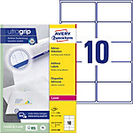Étiquettes d'adresse AVERY Zweckform QuickPEEL™ Blanc 99,1 x 57 mm 100 Feuilles