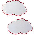 Mini nuages blancs avec contours rouges Franken 14 x 23 cm 20